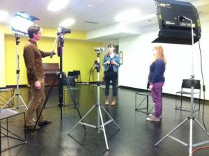 The comedic video series Turning Intern is set to be released in January. (Image courtesy Turning Intern)